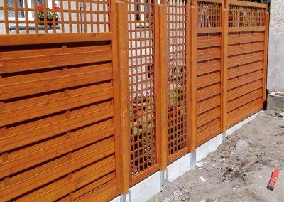 ogrodzenie drewniane 2