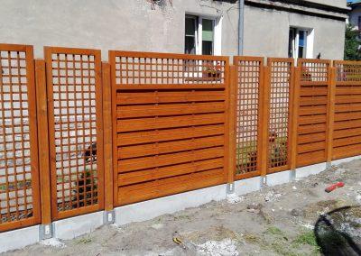 ogrodzenie drewniane 3