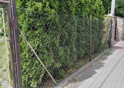 ogrodzenie siatkowe