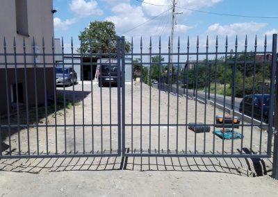 brama ogrodzeniowa dwuskrzydłowa