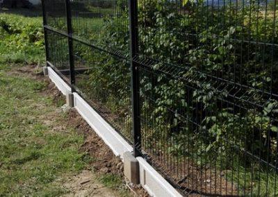 ogrodzenie panelowe grafitowe