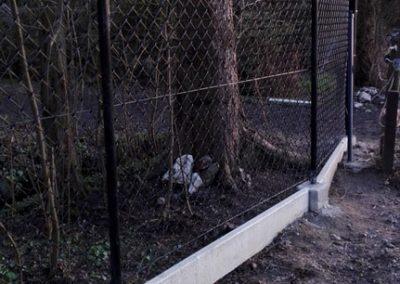 ogrodzenie siatkowe czarne gotowe