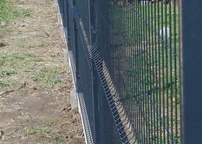 panel ogrodzeniowy bok