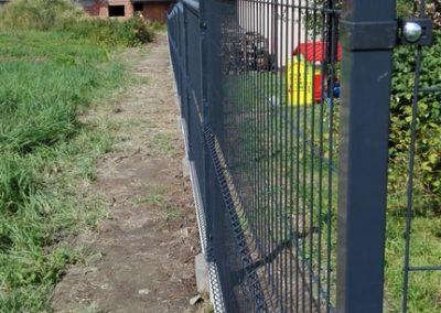 panel ogrodzeniowy grafit