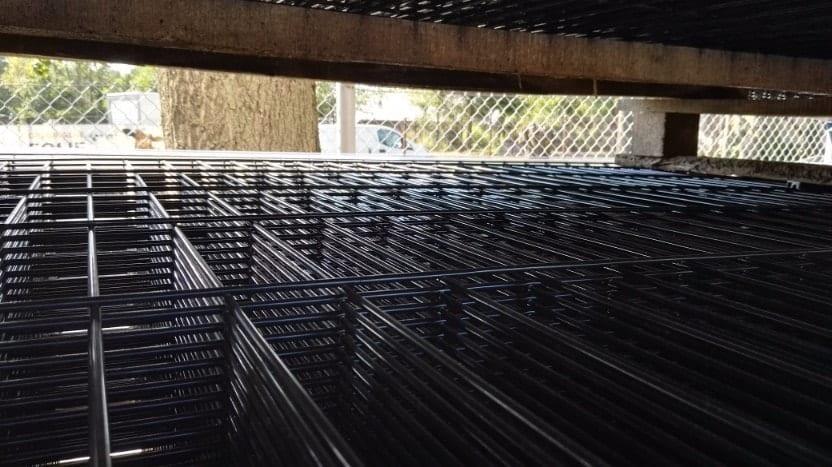 panel ogrodzeniowy na palecie