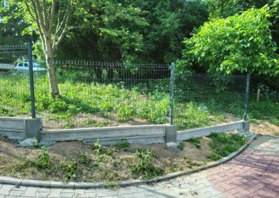 ogrodzenie panelowe kraków ul. banacha