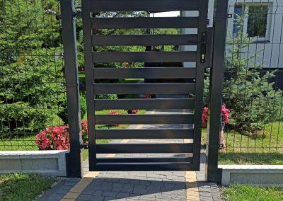 brama ogrodzeniowa tłuczań