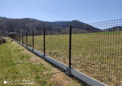 ogrodzenie panelowe i podmurówka sułkowice