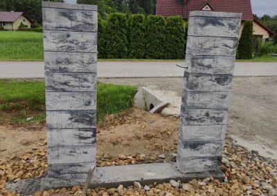 ogrodzenie z bloczków frydrychowice
