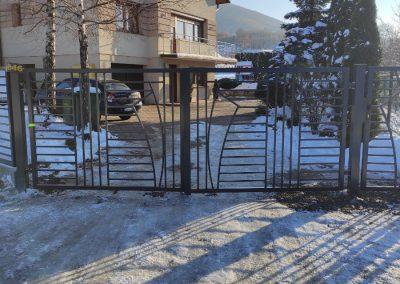 brama metalowa targanice