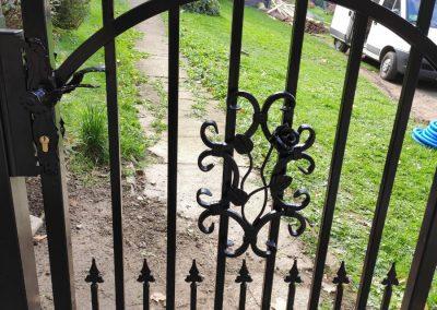 bramka metalowa Targanice