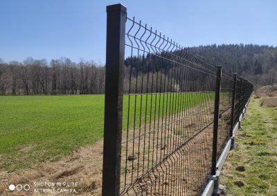 ogrodzenie panelowe Frydrychowice