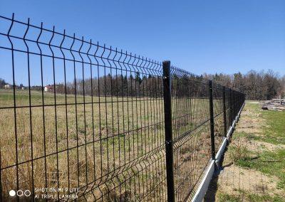 panel ogrodzeniowy antracyt